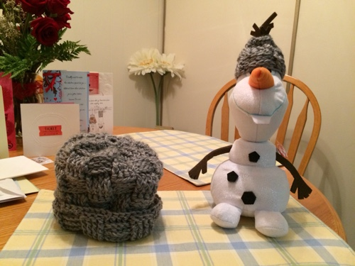 Olaf with hats