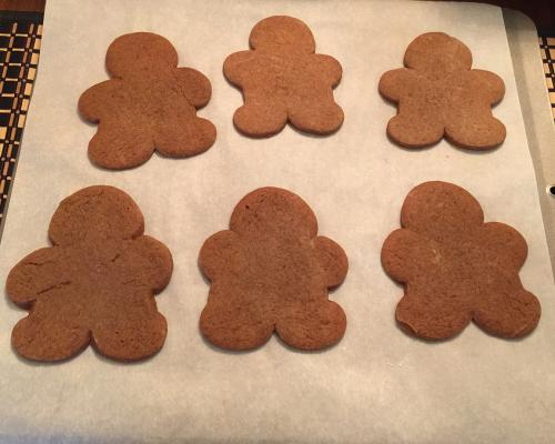 Gingerfolk in the raw