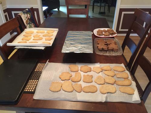 More undecorated cookies!