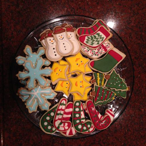 The Finished Cookie Tray!