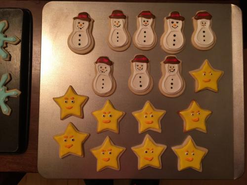 Snowmen and Stars!!