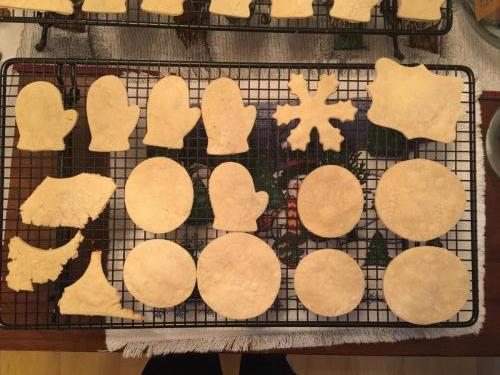 All the Christmas shapes