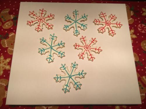 Snowflakes.  Just Snowflakes.