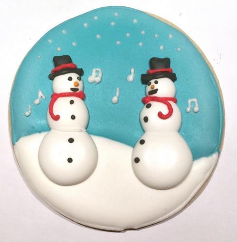Jolly, Singing Snowmen