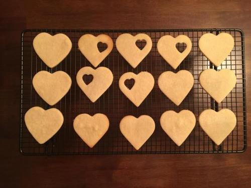 More hearts from the oven