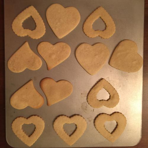 Hearts from the oven